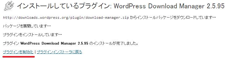 Download Manager ワードプレスプラグイン3